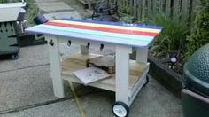 side view of cart Outdoor Cooking, Side View, Picnic Table, Cart, Furniture, Home Decor, Covered Wagon, Decoration Home, Room Decor