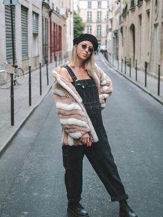 Faux Fur Coat Nude e Rosa Faux Fur, Shop Now, Fur Coat, Bomber Jacket, Nude, Jackets, Shopping, Vintage, Fashion