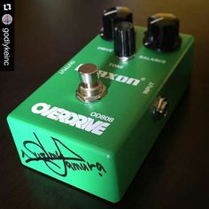 repost @godlykeinc: Just got in the signed #Maxon #OD808 from #MrTamura! Who wants it?  To enter:  Vote for Susumu Tamura to get into the @vintageguitarmagazine #HallofFame and enter to win a #Maxon #OD808 signed by Mr. Tamura the #EarthquakerDevices #Palisades signed by #JamieStillman or either #Keeley #RedDirt or #WhiteSands signed by #RobertKeeley  How to enter: 1) Go to: http://bit.ly/1KsRXE8 2) Screenshot and vote for Mr. Tamura 3) post the photo to Instagram or Twitter and tag…