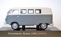 """Volkswagen Kombi 1200 (1957) - Edição 39 """"Carros Inesquecíveis do Brasil"""""""