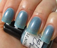 Wingin' It Lacquer : Going Postal