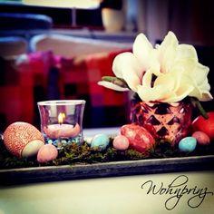 Tischdeko zu Ostern! Osterdeko DIY