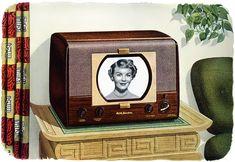 1949 RCA Anniversary Model Television, $199.95