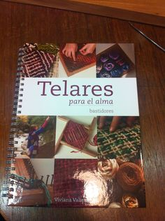 Libro  Telares para el alma weaving loom book por quedicha en Etsy, $45,00