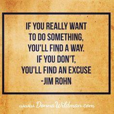 No excuses Wednesday!