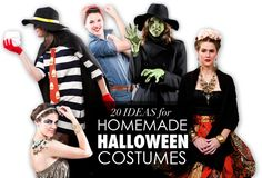Top 20 Homemade Halloween Costumes for Adults