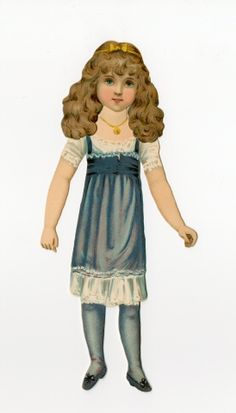 The Fairy Tale Series    paper doll    1894-1910?    The Raphael Tuck & Sons company produced a number of paper doll sets in its Fairy Tale series. This particular set, labeled ninth the series, features the doll pictured here and paper clothing depicting Cinderella at Home, the Fairy Godmother, Cinderella at the Ball, and Goody Two Shoes.