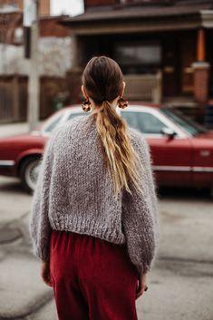 Ravelry: Kelowna Sweater by Tara-Lynn Morrison Loopy Mango, Tara Lynn, Ravelry, Winter Hats, Turtle Neck, Pattern, Sweaters, Fashion, Moda