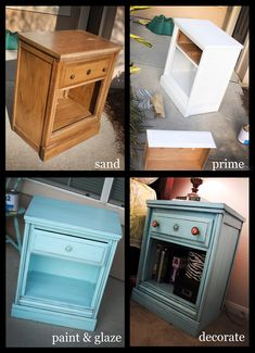 Another great furniture re-fab to get your creative juices flowing! The ReUstore is the best place to find any type of furniture you want to transform. Visit and see for yourself!