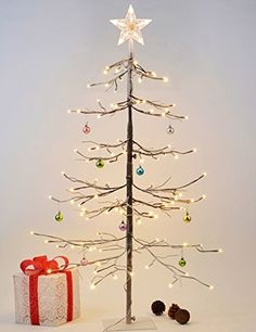 Lightshare Fir Snow Tree 112L LED with 10L LED Star Treetop Light 4 Feet Warm White -- You can get additional details at the image link. (This is an affiliate link) #ChristmasSeasonalLighting