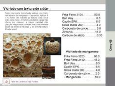 Cerámica Tres Piedras » Vidriado de textura de cráter