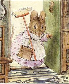 infantil decoupage. Beatrix Potter