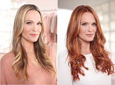 Preview, Before/After Photos: Molly Sims Goes Red With New Nexxus Color Assure Collection – Pre-Wash Primer Prevents Hair Color-Fading Before It's Even A Problem