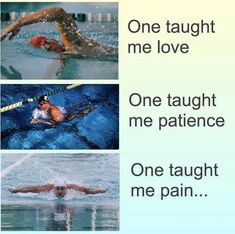 Pools In Decks, Garden Painting - Competitive Swimming Funny, Funny Swimmer Problems.You can find S. Swimming Funny, Swimming Memes, I Love Swimming, Swimming Tips, Funny Swimming Quotes, Swimming Workouts, Competitive Swimming, Synchronized Swimming, Michael Phelps