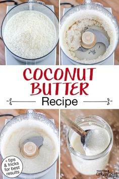 Luscious and highly nutritious, coconut butter is an allergy-friendly twist on grass-fed butter or nut butters! And while you can buy it by the jar, this homemade version is much more economical than store-bought, and just as yummy. Eat it by the spoonful, make a glaze to drizzle over your favorite cakes, or spread on toast! #coconutbutter #nutfree #dairyfree Gaps Diet Recipes, Paleo Recipes, Bread Recipes, Pumpkin Spice Coffee, Spiced Coffee, Healthy Dessert Recipes, Yummy Snacks, Nut Free, Dairy Free