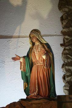 Virgen, Portal, Catedral El Carmen de Cartago