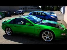 Custom Painted Nissan 300ZX - YouTube