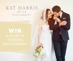 Win 8 Hours of Wedding Photography from Kat Harris