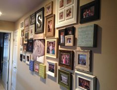 three girls three cities : how to create the perfect photo wall