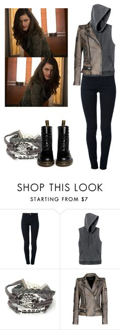 """""""Hayley Marshall - The Originals"""" by shadyannon ❤ liked on Polyvore featuring STELLA McCARTNEY, RVCA, Balmain and Dr. Martens"""