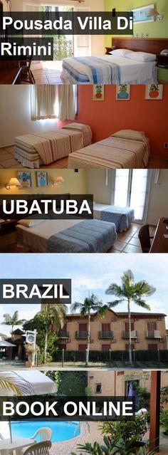 Hotel Pousada Villa Di Rimini in Ubatuba, Brazil. For more information, photos, reviews and best prices please follow the link. #Brazil #Ubatuba #PousadaVillaDiRimini #hotel #travel #vacation