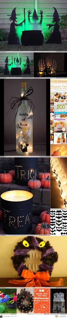 Fall / Halloween Ideas & food although I hate the first one the others are great!