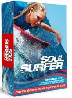 "[""<p>Soul Surfer is the inspiring true story of teen surfer Bethany Hamilton, who lost her arm in a shark attack and courageously overcame all odds to become a champion again, inspiring millions worldwide through her sheer determination and unwavering faith.<\/p>\r\n<p>This Church Kit includes everything a pastor or church leader needs to carry out a Soul SUrfer campaign, including customizable sermons.<\/p>\r\n<p>Soul Surfer DVD-based Study for families and small groups ..."