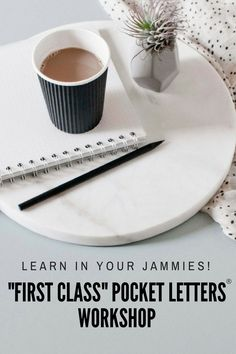 Learn about pocket mail from Pocket Letters® founder, Janette Lane. You can take the workshop and learn at your own pace from the comfort of your pajamas!