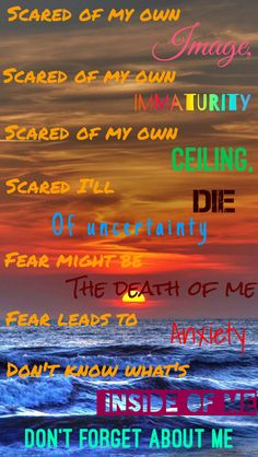 From Doubt by Twenty One Pilots *Originally Made by Erin McKenna*