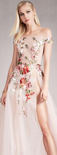 Georges Hobeika Spring Summer 2018 Ready To Wear Collection - Share The Looks Ellie Saab, Armani Prive, Floral Fashion, Pink Fashion, Sweet Fashion, Valentino, Michael Cinco, Zuhair Murad, Runway Fashion Outfits