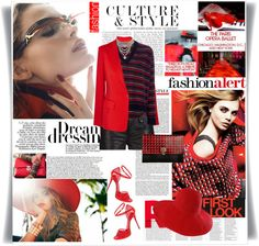 """""""RED"""" by maxi888 ❤ liked on Polyvore"""