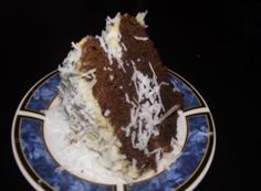 """Chocolate cake with coconut and rum """"Mmm, Yum!"""""""