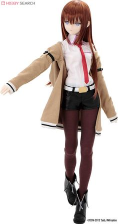 From Stein Gate comes this nice Azone doll of Makise Kurisu #anime #doll