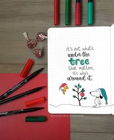 Be inspired with these creative Bullet Journal Christmas Quotes that are perfect for your December bujo! Choose from a dozen of artistic designs that will truly add the holiday vibes to your journal! Bullet Journal Quotes, Bullet Journal Notebook, Bullet Journal Spread, Bullet Journal Layout, Bullet Journal Inspiration, Journal Ideas, Bullet Journal Christmas, December Bullet Journal, December Quotes