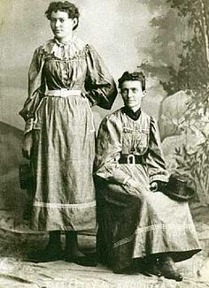 Helga Estby (1860-1942), and her daughter Clara, walked 3,500 miles from Spokane, Washington to New York City, in c.1896. In an attempt to raise money to save the family farm. The contest winners were promised the prize of $10,000.   They arrived in Gilded Age NYC, to claim their prize, but the claim was not honored. The New York World newspaper, stated that she and her daughter, did not meet the time deadline! ~ {cwl}