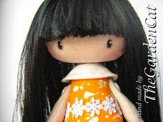 Mimin Dolls: Cabelo com fita de cetim