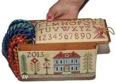 Old Windmill Sewing Box from Giulia Punti Antichi - click to see more