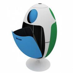 Contenitore per raccolta differenziata Ovetto Amico Soldi Design in vendita online su CiatDesign