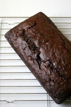 Chocolate Zucchini Bread- Use up your garden fresh zucchini with this fast and easy recipe