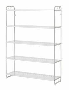 IKEA MULIG shelving unit - Great for organizing clothes inside the wardrobe Ikea Room Ideas, Minimalist Home, Boy Room, Organization, Organizing, Getting Organized, Bookcase, Shelves, Kitchens