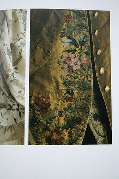 *Dress Coat and Waistcoat, silk, 1745, V&A Museum