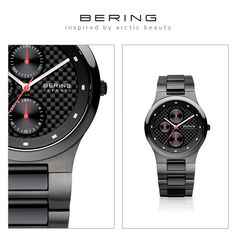 Men's style - hightech ceramic; Ceramic Collection; BERING watch