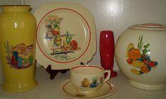 <3 Vintage Fiesta / Fiestaware