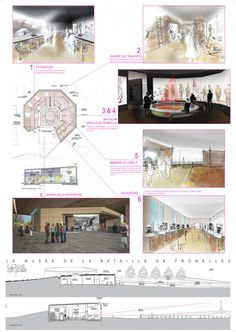 Museum of Fromelles Fight, SERERO Architectes. proposals for new #museum.