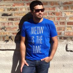 Meow Time T-Shirt from uncovet.com
