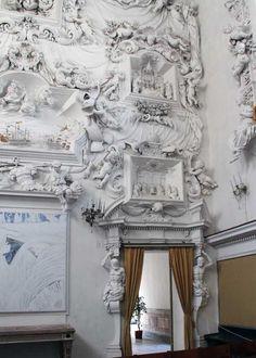 Giacomo Serpotta's  stuccowork in Palermo: Oratorio del Rosario di Santa Cita