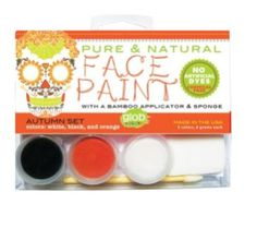 Eco-Friendly & Organic Halloween Costumes for Baby/Toddler: All Natural Face Paint by Glob