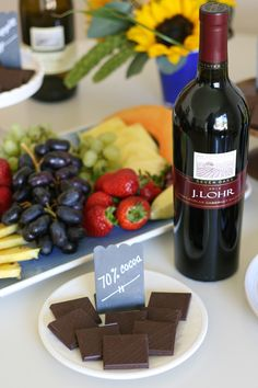 When you ask friends if they'd like to come over for some chocolate and wine, the only question they will ask is WHEN? ~ Click to see more from @glorioustreats