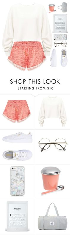 """""""Umm... yeah!"""" by gucci-af ❤ liked on Polyvore featuring Paloma Blue, Miss Selfridge, Puma, Skinnydip and Marigold Artisans"""