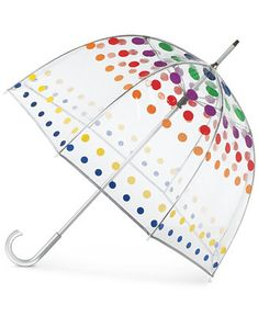 Totes Clear Bubble Umbrella  sc 1 st  Pinterest & totes® Double Canopy Golf Stick Umbrella - Multicolor | Golf Ps ...